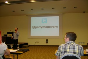 Gerry McGovern: Opening Keynote